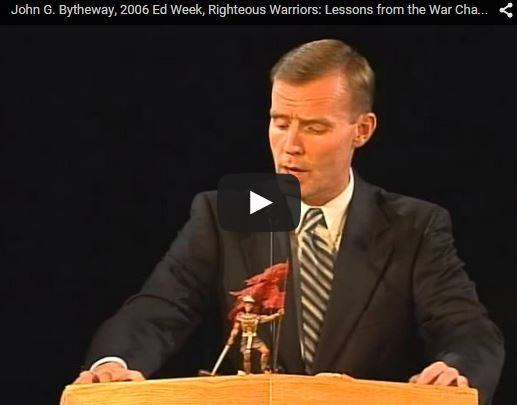 Righteous Warriors: Lessons from the War Chapters