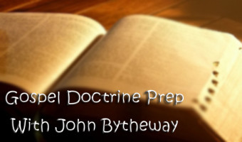 "Gospel Doctrine Prep – Lesson 23, Alma 8-12 ""More Than One Witness"""
